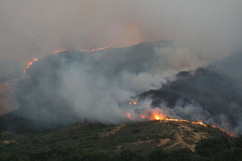 San Bruno Mountain Wildfire